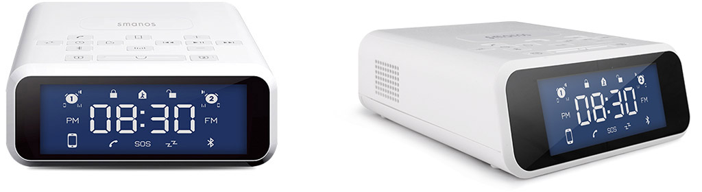 G310 Alarm System with Bluetooth Speaker